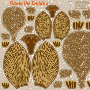 Banjo the Echidna