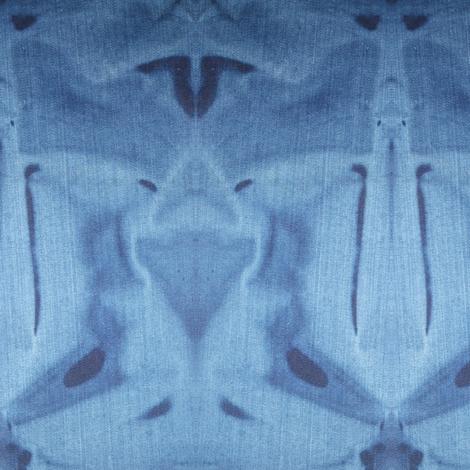 SarahCrystalDenim2 fabric by sarahcrystal on Spoonflower - custom fabric