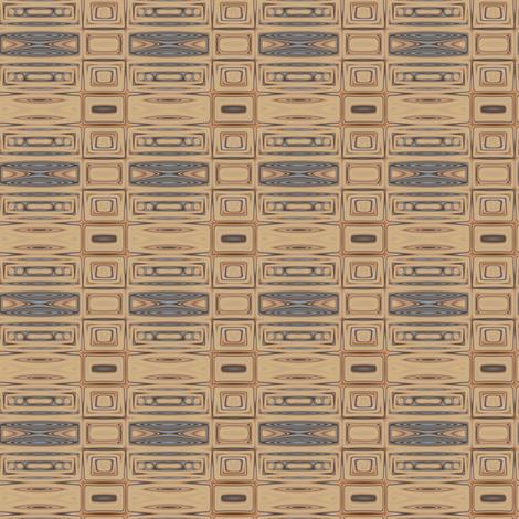 Beach Geometric 2 © Gingezel™ 2013 fabric by gingezel on Spoonflower - custom fabric