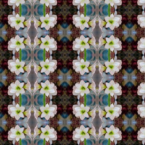 Vintage_amaryll fabric by nype on Spoonflower - custom fabric