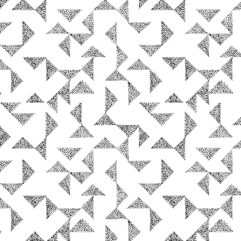 dotty triangles 2 fabric by brokkoletti on Spoonflower - custom fabric