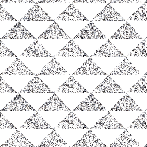Dotty Triangles 1 fabric by brokkoletti on Spoonflower - custom fabric