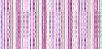 Pretty In Pink Stripes
