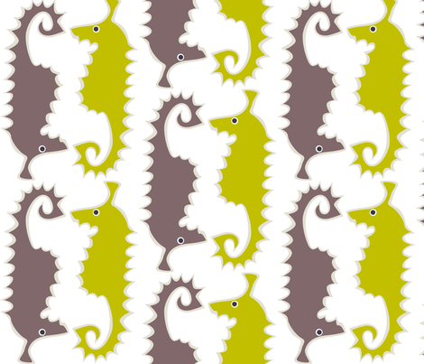 head_to_tail fabric by antoniamanda on Spoonflower - custom fabric