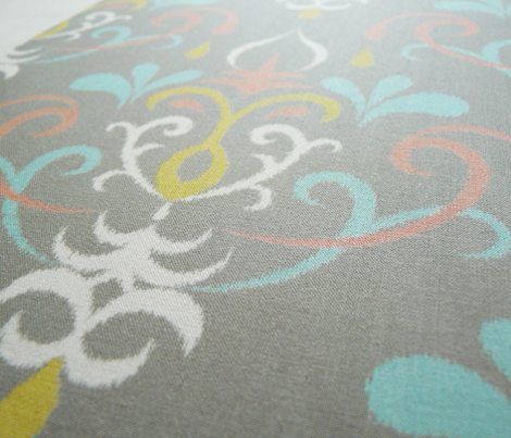 ikat damask large - pastel