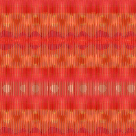 purple and orange festive 2 fabric by dk_designs on Spoonflower - custom fabric