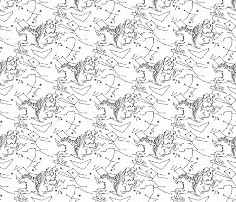 white_pegasus fabric by holli_zollinger on Spoonflower - custom fabric