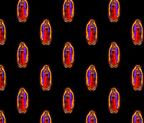 Mary's Loving Glow fabric by slickandhisruin on Spoonflower - custom fabric