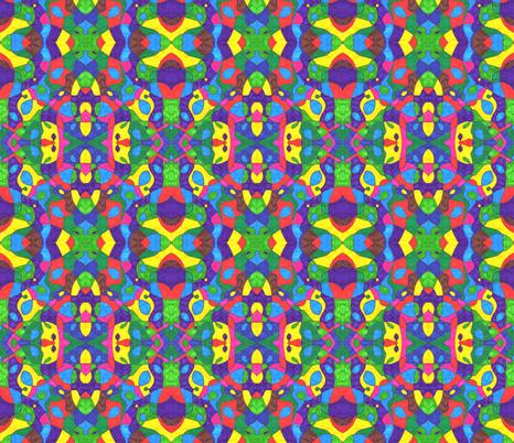 kaleidoscope - original fabric by annnomnomnom on Spoonflower - custom fabric