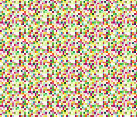 Pixelpaper Multicolor fabric by alinichole on Spoonflower - custom fabric