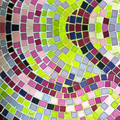 Mosaic Purple Tiles