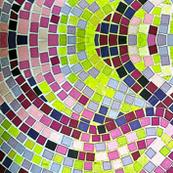 Mosaic Purple Tiles
