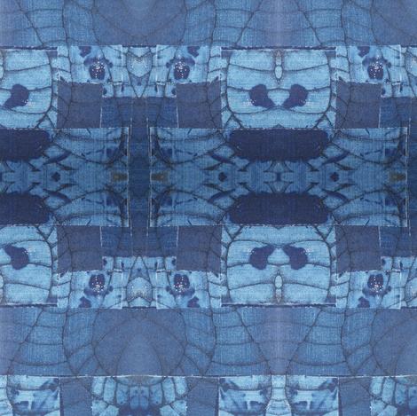 SarahCrystalDenim7 fabric by sarahcrystal on Spoonflower - custom fabric
