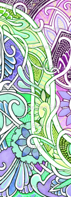 1913 Meets 2013 Under a Pastel Twisting Vine