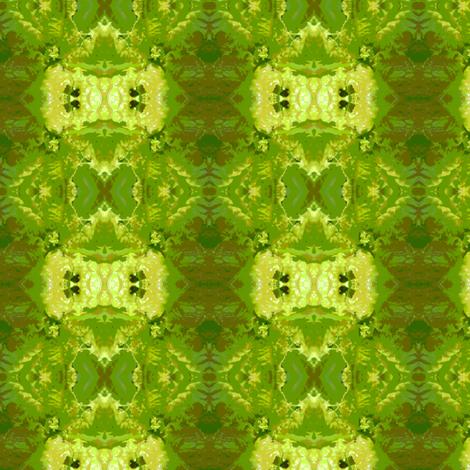 Cartoon Slobolt Lettuce fabric by carmenscottagecreations on Spoonflower - custom fabric