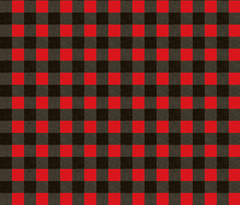 sportsmans_gingham fabric by holli_zollinger on Spoonflower - custom fabric