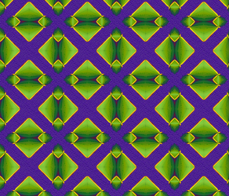 Mardi Gras Puzzle fabric by fireflower on Spoonflower - custom fabric