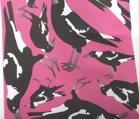 Magpies in the Candy