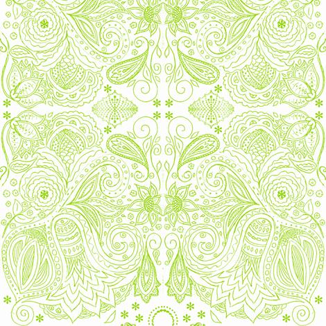 fancy nature fabric by kerryn on Spoonflower - custom fabric