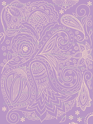fancy nature violet
