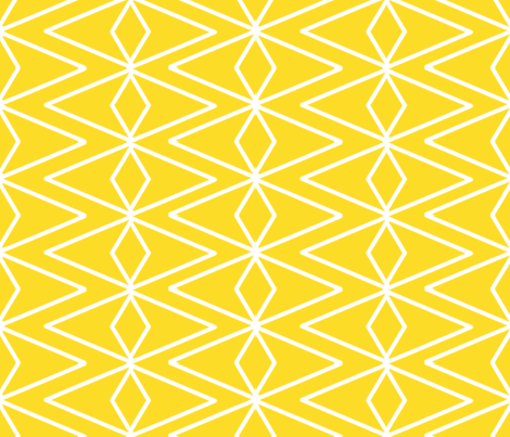 Big Golden Diamonds fabric by fable_design on Spoonflower - custom fabric
