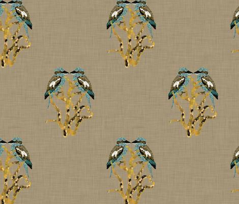 Kooky Kookaburra fabric by motiver on Spoonflower - custom fabric