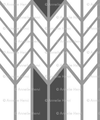 Gray Wheat Weave