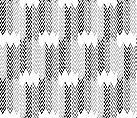 Black Wheat Herringbone fabric by mrshervi on Spoonflower - custom fabric
