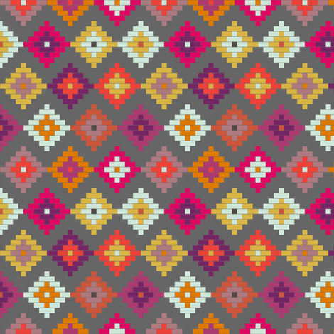 Bold Moroccan Mini fabric by mrshervi on Spoonflower - custom fabric