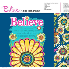 Believe_navy_Pillow_14x14