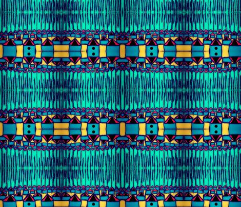 """""""Sprawling Suburbs"""" fabric by elizabethvitale on Spoonflower - custom fabric"""