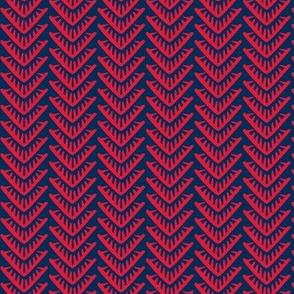 Diamond Scales red-blue