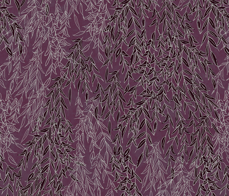 Willow fabric by resdesigns on Spoonflower - custom fabric