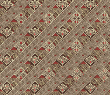 Granada (hand drawing, african version) fabric by kirpa on Spoonflower - custom fabric