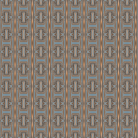 Pool Geometric 2 © Gingezel™ 2013 fabric by gingezel on Spoonflower - custom fabric