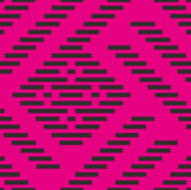 kogin - pink, black