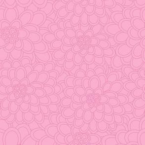 flowered tree in pink.coordinate
