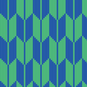 arrow - green, blue
