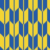 arrow - yellow, blue