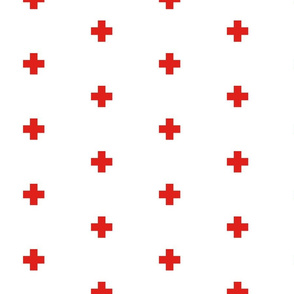 Reverse Swiss flag