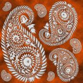 paisley-rust