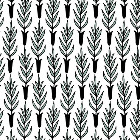 Potted Plants fabric by pond_ripple on Spoonflower - custom fabric