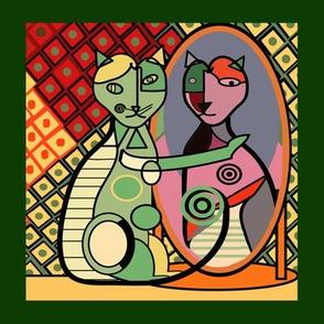 Picasso's Cat 8x8