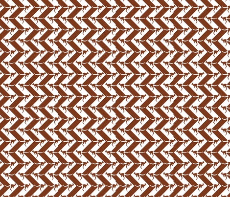 Wallaby_Chevron fabric by spanky on Spoonflower - custom fabric