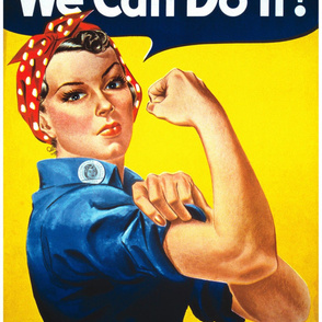 Rosie-the-Riveter single image