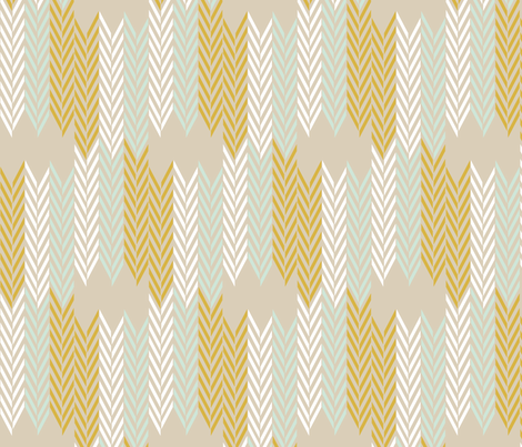 WheatField Weave fabric by mrshervi on Spoonflower - custom fabric