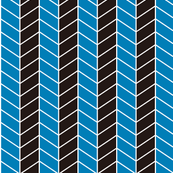 arrow - blue, black