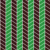 arrow - green, brown