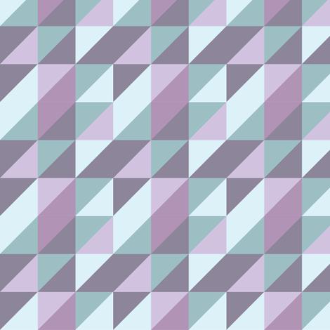 triangle_purple_haze fabric by sasd on Spoonflower - custom fabric