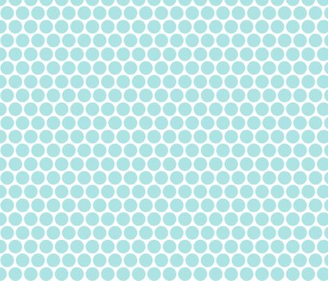 Milledotti (paleblue) fabric by pattern_bakery on Spoonflower - custom fabric